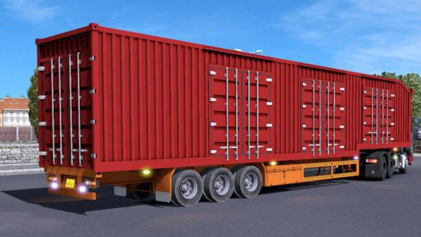 3062 chn 15m freight container 1 37 x 1