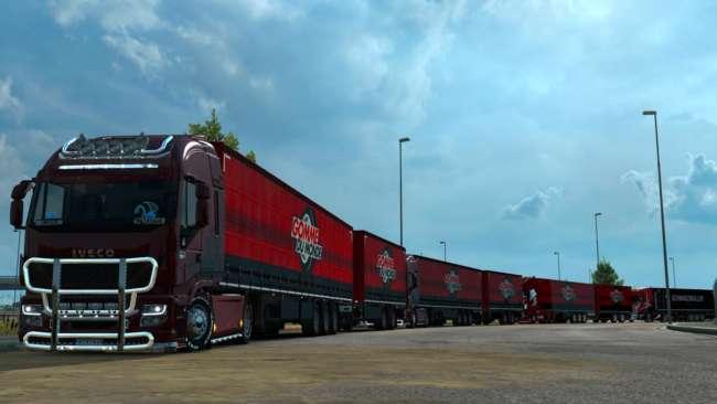 iveco hiway v8 edition black editon mp truckersmp 1 37 2