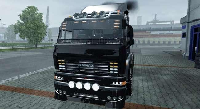 kamaz 6460 turbo diesel v8 1 37 x 1