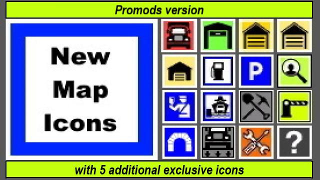 new map icons promods version v1 0 2