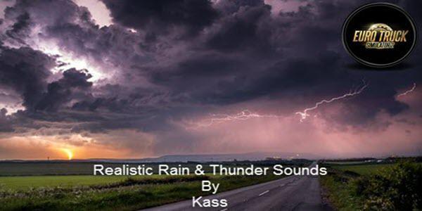 realistic rain a thunder sounds v3.1 ets2 1.37 ets2 1