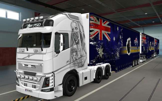 skin volvo fh16 2012 use mask 1 37 1